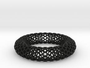 ALVEOLARE in Black Natural Versatile Plastic: Small
