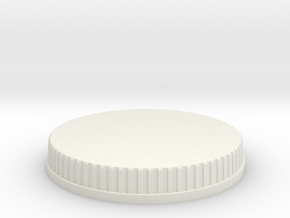 MMPR Legacy Power Coin (Flat Blank) in White Natural Versatile Plastic