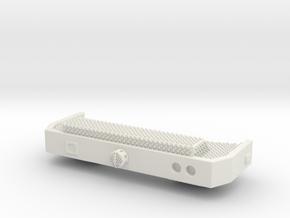 1/87 Spartan Bumper #2 in White Natural Versatile Plastic