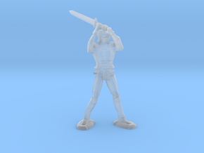 Armored Knight in Smooth Fine Detail Plastic