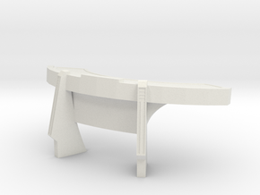 Console Type 16 (Star Trek) in White Natural Versatile Plastic: 1:30