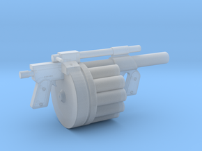 Hawk MM1 Grenade Launcher 1:6 scale in Frosted Ultra Detail