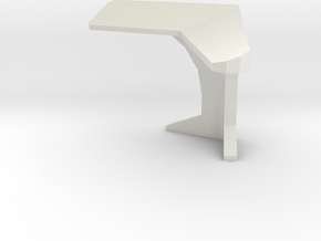 Console Type 2 (Star Trek) in White Natural Versatile Plastic: 1:30