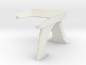 Console Type 4 (Star Trek) in White Natural Versatile Plastic: 1:30