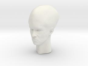 Talosian variant 1 - 1:6 scale in White Natural Versatile Plastic