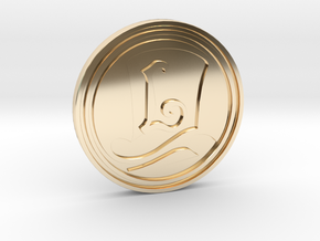 """""""The Layton Series 10th Anniversary 2017"""" coin in 14K Yellow Gold"""