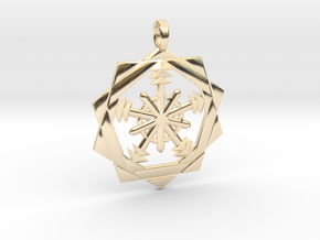 ASTRO PENTACLE in 14K Yellow Gold