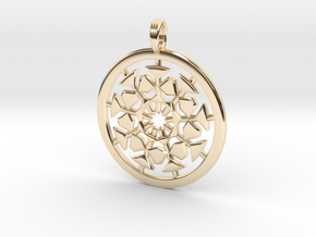 AETHER EXPLOSION in 14K Yellow Gold