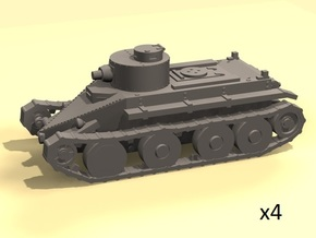 1/220 Christie T3 tank in Frosted Extreme Detail