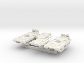 1/200 Indian Arjun Tank x2 in White Natural Versatile Plastic