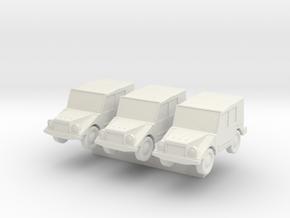 1/144 DKW Munga in White Natural Versatile Plastic