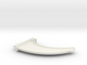 (Armada) 1x Large Peg SOLID in White Strong & Flexible