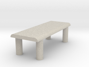 Just A Table in Natural Sandstone