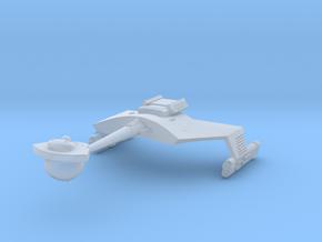 3125 Scale Klingon D7B Battlecruiser WEM in Smooth Fine Detail Plastic