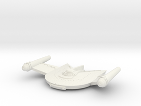 3125 Scale Romulan Vulture Dreadnought Mon in White Natural Versatile Plastic