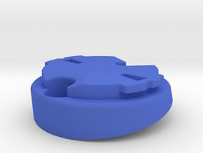 Garmin Varia Plate 10deg in Blue Processed Versatile Plastic