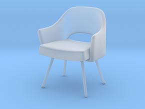 Miniature Executive Armchair - Eero Saarinen in Smooth Fine Detail Plastic: 1:12