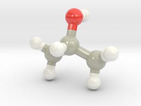 Isopropanol in Glossy Full Color Sandstone