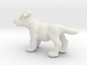 1/24 Puppy 05 in White Natural Versatile Plastic