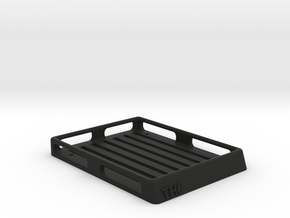 1:35 SCALE ORLANDO JEEP RACK in Black Strong & Flexible: 1:35