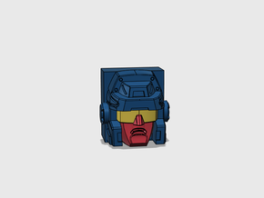 Trigger Happy G1 Face in Smooth Fine Detail Plastic