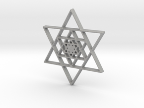 Infinite Jewish Symbol Pendant Charm in Aluminum
