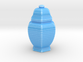 URN 3mm Wire Combined in Gloss Blue Porcelain