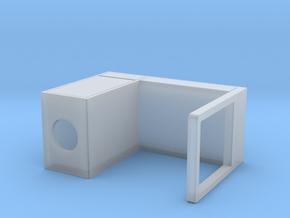 Miniature Micke Desk - IKEA in Smooth Fine Detail Plastic: 1:35