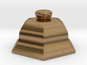 URN 0.8mm Cap in Natural Brass