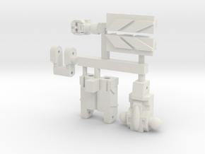 Master Seeker Mini in White Natural Versatile Plastic
