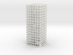Maze 05, 3x3x8 in White Strong & Flexible: Medium