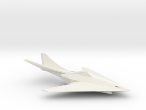 Khanjar-Class Fighter in White Natural Versatile Plastic