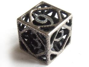 Cage Die6 in Stainless Steel