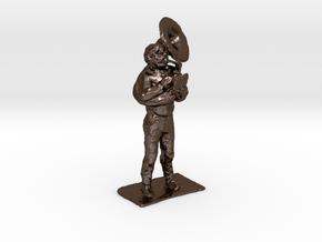 Tuba Dude 1-50 in Polished Bronze Steel