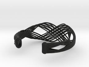 Fellah Truss in Black Natural Versatile Plastic: Large