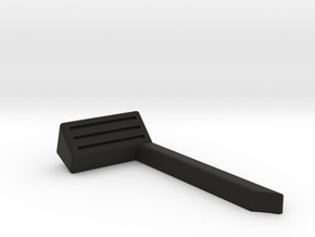 LEFT SIDE/ 1:35 SCALE ORLANDO JEEP SNORKEL  in Black Natural Versatile Plastic: 1:35