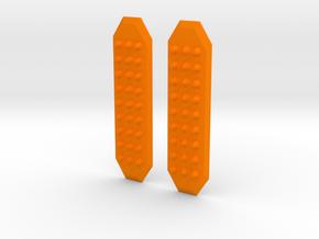 1:35 SCALE SAND RAMPS in Orange Processed Versatile Plastic: 1:35
