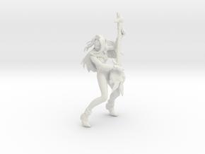 1/12 14 YO Rock Singer Mylene in White Natural Versatile Plastic