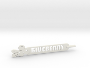 Blueberry Plant Stake in White Natural Versatile Plastic