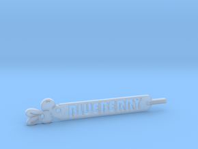 Blueberry Plant Stake in Smooth Fine Detail Plastic