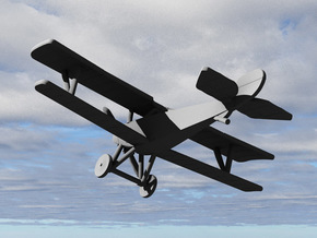 Nieuport 21 (Vickers) in White Strong & Flexible: 1:144