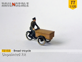 Bread tricycle (TT 1:120) in Frosted Ultra Detail