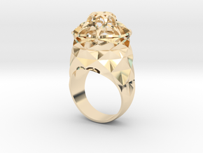 The Gate in 14k Gold Plated Brass: 9 / 59