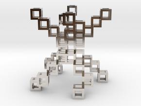 Deceptic Pendant in Platinum