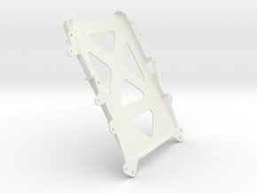 "350z MK1 Galaxy Tab 4 10.1"" Holder in White Natural Versatile Plastic"
