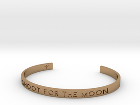 Shoot For The Moon Bracelet S-L in Polished Brass: Small