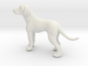 1/24 Dalmatian Adult Male  in White Natural Versatile Plastic