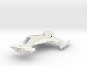 Klingon D34  BattleCruiser in White Natural Versatile Plastic
