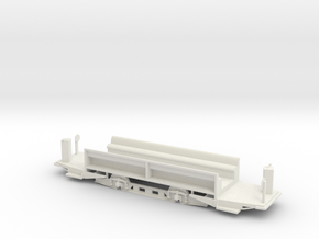MC4 streetcar floor in White Natural Versatile Plastic