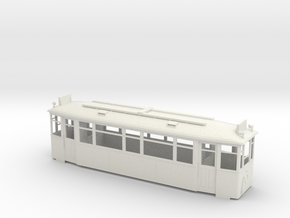 МС4 streetcar body in White Natural Versatile Plastic